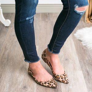 Shoes - 5⭐️best selling Leopard flats shoes